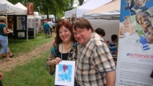 Bonnie_Lubet_and_Mark_Dilley_organizers_of_Art_in_Mill_Park