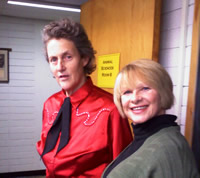 Temple Grandin and Joanne Lara