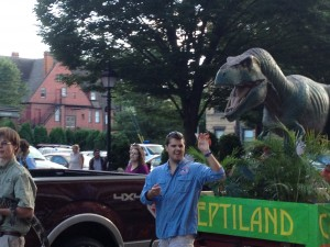 Austin at Reptiland Parade