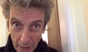 Peter Capaldi, image captured from YouTube, Ross Goodall