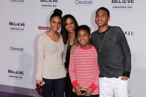 "at the ""Justin Bieber's Believe"" Premiere, Regal Cinemas, Los Angeles, CA 12-18-13"