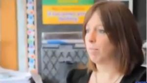 Principal Kimberly Taylor  - screenshot taken from abc 7 New York