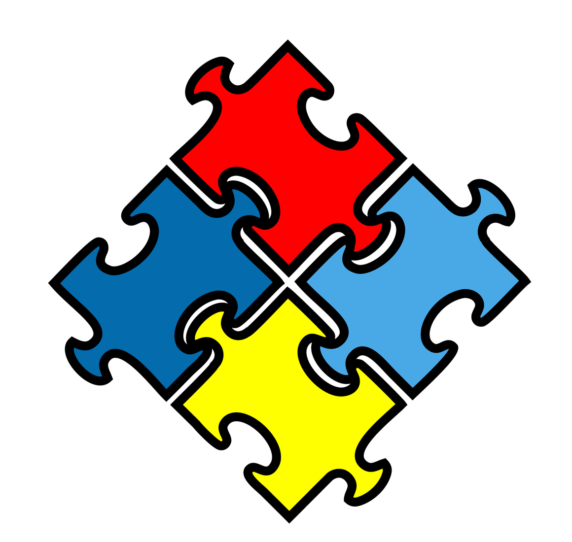 Autism and the Puzzle Piece ……