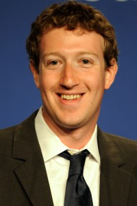 Mark Zuckerberg, Founder & CEO of Facebook,