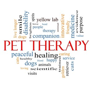 Pet Therapy sign