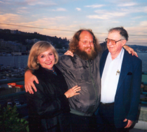 Lillian and Harold with their son.