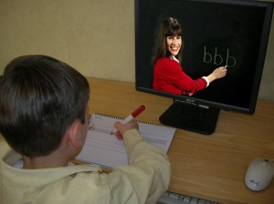 The TV Teacher handwriting program makes breakthroughs for children with Autism, Down syndrome, and other special needs. (PRNewsFoto/The TV Teacher, LLC) source: The TV Teacher, LLC
